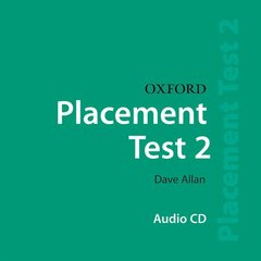 Cover of the book Oxford placement tests 2: class cd 2 (cd-rom)
