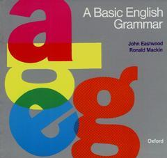 Cover of the book A basic english grammar