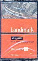 Cover of the book Landmark intermediate: intermediate class cassettes (2) (cassette)