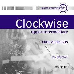 Cover of the book Clockwise upper-intermediate: class audio cds (cd-rom)