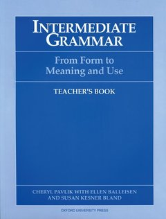 Cover of the book Intermediate grammar: teacher's book