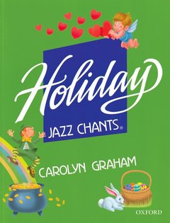 Cover of the book Holiday jazz chants: student book