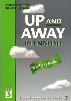 Cover of the book Up and away in english 3: 3 teacher's book