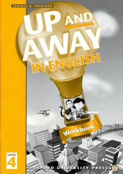 Cover of the book Up and away in english 4: 4 workbook