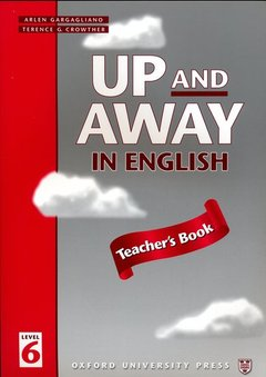 Cover of the book Up and away in english 6: 6 teacher's book