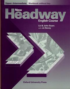 Cover of the book New headway upper-intermediate: upper-intermediate workbook (without key) without key