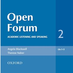 Cover of the book Open forum 2: audio cds (3) (cd-rom)