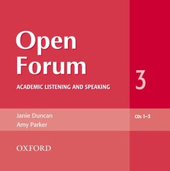 Cover of the book Open forum 3: audio cds (3)