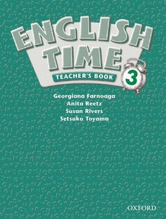 Cover of the book English time 3: teacher's book