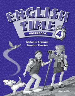 Cover of the book English time 4: workbook