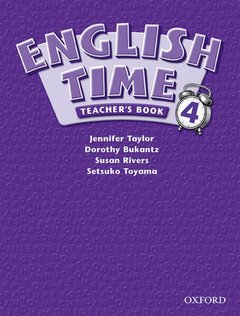 Cover of the book English time 4: teacher's book