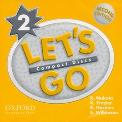 Cover of the book Let's go 2: 2 audio cd 2/e (cd-rom)