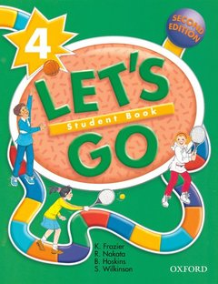 Cover of the book Let's go 4: 4 student book 2/e