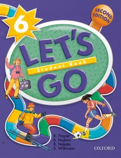 Cover of the book Let's go 6: level 6 student book 2/e