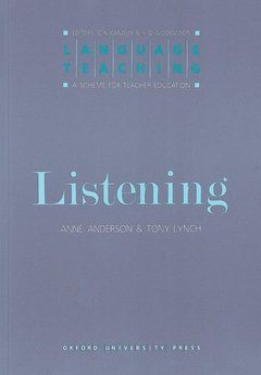 Cover of the book Listening (Paper)