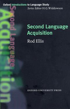 Cover of the book Second language acquisition