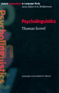 Cover of the book Psycholinguistics
