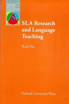 Cover of the book Sla research and language teaching
