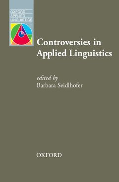Cover of the book Controversies in applied linguistics