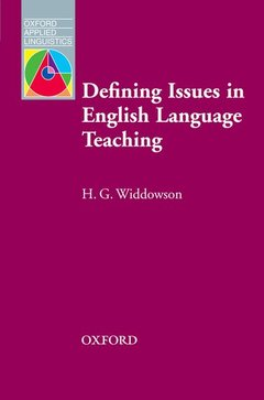 Cover of the book Defining issues in english language teaching