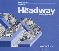 Cover of the book New headway intermediate: intermediate class audio cds (2) (cd-rom)