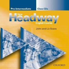 Cover of the book New headway pre-intermediate: pre-intermediate class cd (2) (cd-rom)