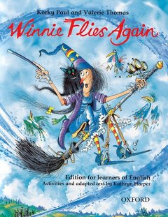 Cover of the book Winnie flies again: storybook (with activity booklet) edition for learners of english