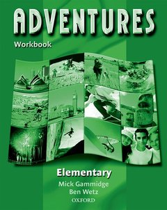 Cover of the book Adventures elementary: workbook