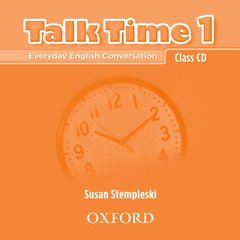 Cover of the book Talk time 1: class cd (cd-rom)