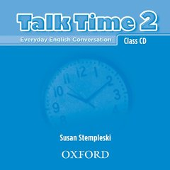 Cover of the book Talk time 2: class cds (2) (cd-rom)