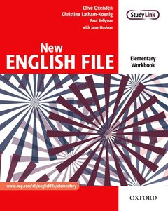 Cover of the book New english file elementary: workbook