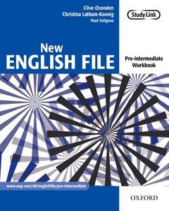 Cover of the book New english file pre-intermediate: workbook