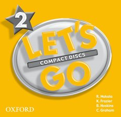 Cover of the book Let's go 2: level 2: audio cds (2)