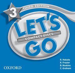 Cover of the book Let's go 3: audio cds (2)