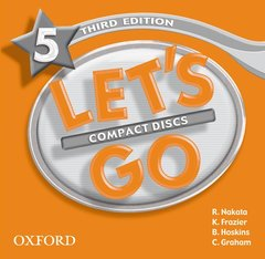 Cover of the book Let's go 3rd edition 5: cd (cd-rom)