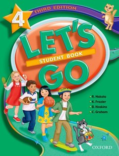 Cover of the book Let's go 4: student book