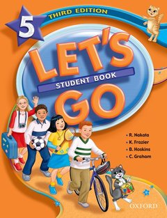 Cover of the book Let's go 5: student book
