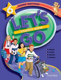 Cover of the book Let's go 6: student book