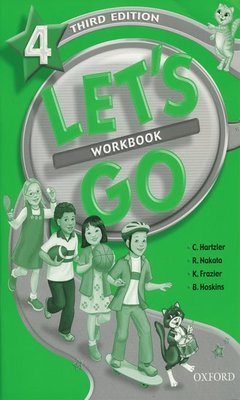 Cover of the book Let's go 4: workbook