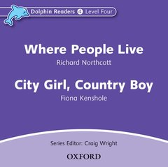 Cover of the book Dolphin readers audio cds: where people live & city girl, country boy audio cd (cd-rom)