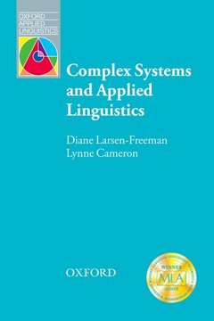 Cover of the book Complex systems and applied linguistics