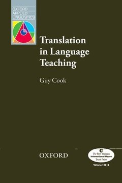 Cover of the book Oxford applied linguistics: translation