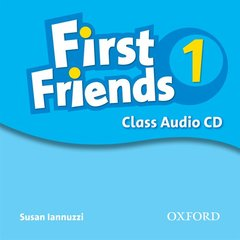 Cover of the book First friends 1: class audio cd