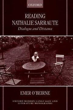 Couverture de l'ouvrage Reading nathalie sarraute dialogue and distance