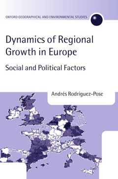 Couverture de l'ouvrage Dynamics of regional growth in europe social and political factors