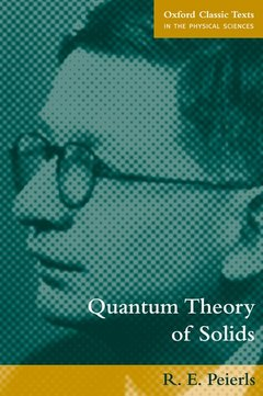 Cover of the book Quantum theory of solids (reprint 1995)