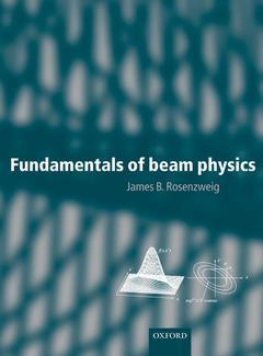 Couverture de l'ouvrage Fundamentals of beam physics