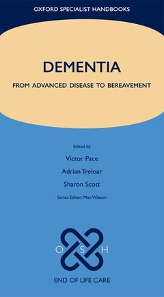 Couverture de l'ouvrage End of life care in dementia