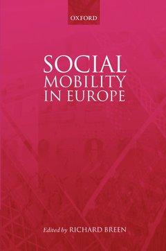 Couverture de l'ouvrage Social mobility in Europe