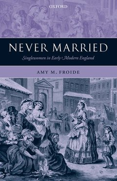 Couverture de l'ouvrage Never married singlewomen in early modern england